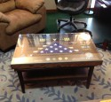 Military Shadow Box End Table