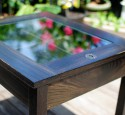 Oak Shadow Box Coffee Table