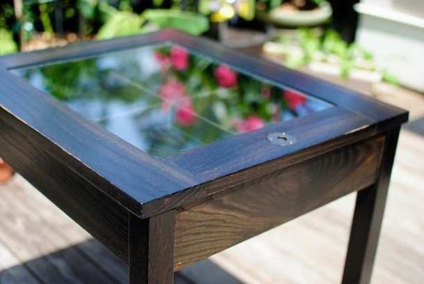 Oak Shadow Box Coffee Table