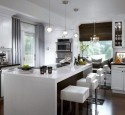 Window Treatments For Contemporary Kitchen