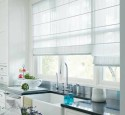 Window Treatments For White Kitchen