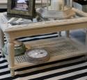 Antique Shadow Box Coffee Table
