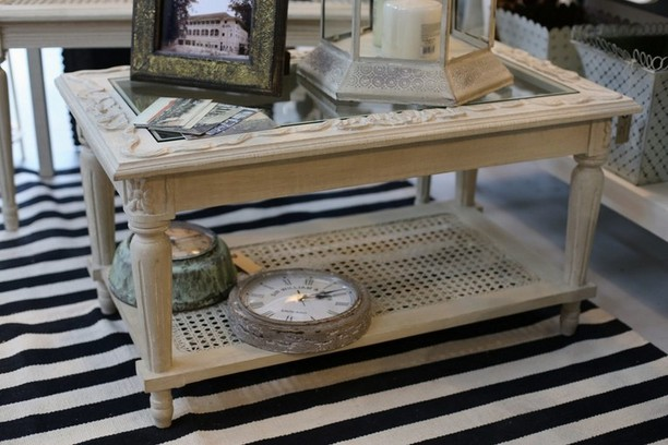 Antique Shadow Box Coffee Table
