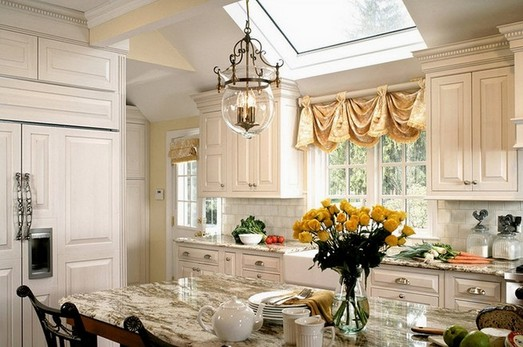 Unique Window Treatments For Kitchen