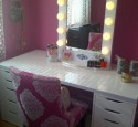 Cheap Lighted Vanity Table