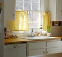 Window Treatments For Yellow Kitchen