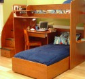 Loft Bed With Desk Double