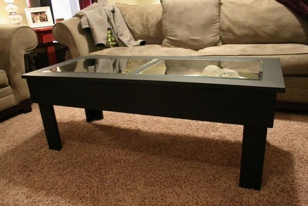 Shadow Box Coffee Table Black