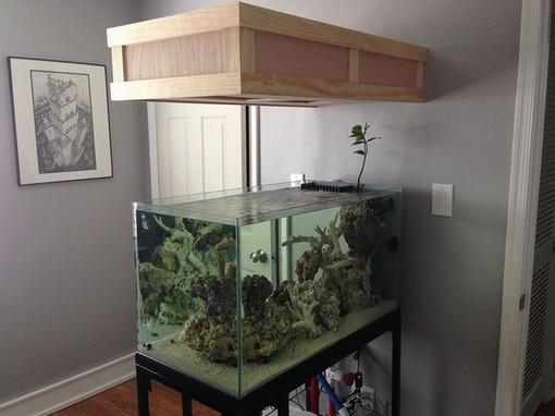 Rimless Aquarium Hood