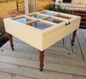 Shadow Box Coffee Table Drawers