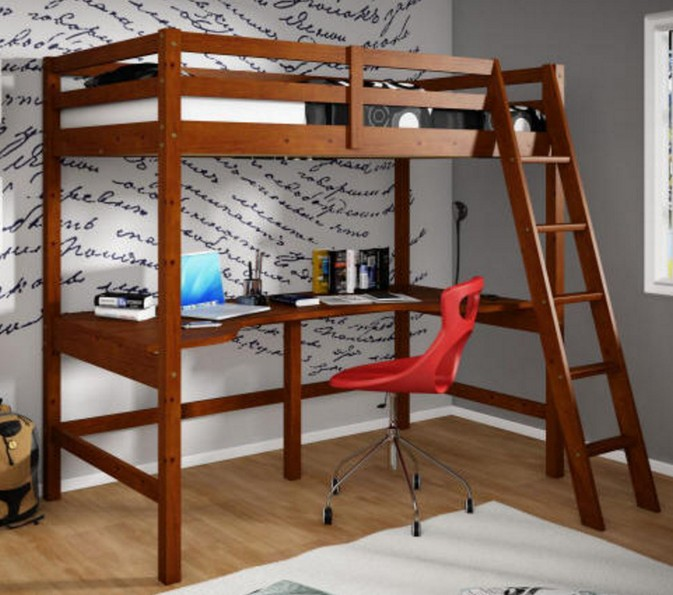 Loft Bed With Desk College