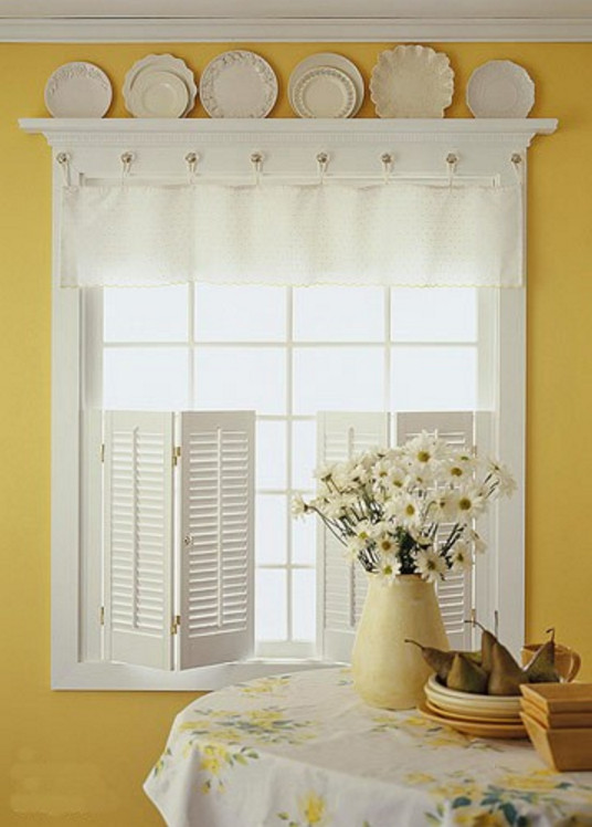 Easy Window Treatments For Kitchen