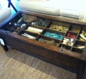 Western Shadow Box Coffee Table