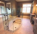 Sunken Tub Shower Combination