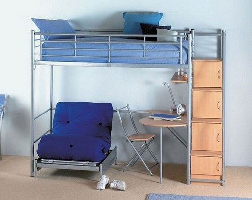 Loft Bed With Desk And Chair