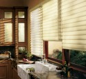 Window Treatments Kitchen Tiers