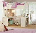 Loft Bed With Desk Below