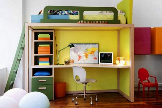Loft Bed With Desk Ideas