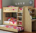 Loft Bed With Desk Trundle