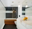 Modern Shower Tub Combo