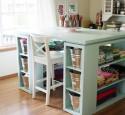 Craft Storage Table