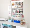 Craft Storage Shelves